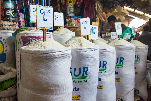 Rice for sale @Granada