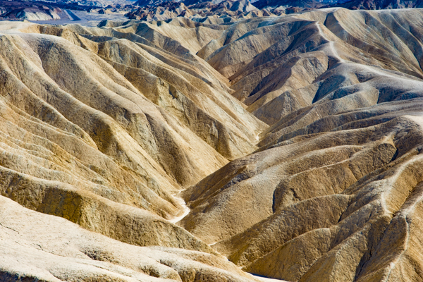 Zabriskie Point @Death Valley