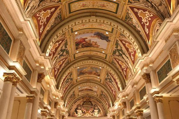 Las Vegas_Halle im Hotel Venetian
